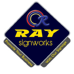 Ray Signworks Co., Ltd. Signboard, Aluminium & Glass