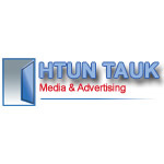 Htun Tauk Media & Advertising Signboard, Aluminium & Glass